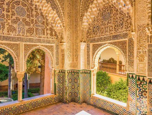 Visitar la Alhambra de Granada -Sur ceramic
